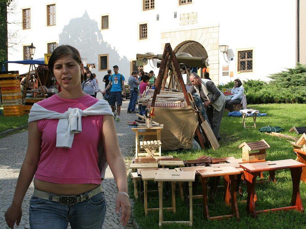 Historický jarmark v Blansku.