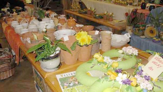 Velikonoční výstava 2009 - Občanské sdružení Vápeníček Lipovec