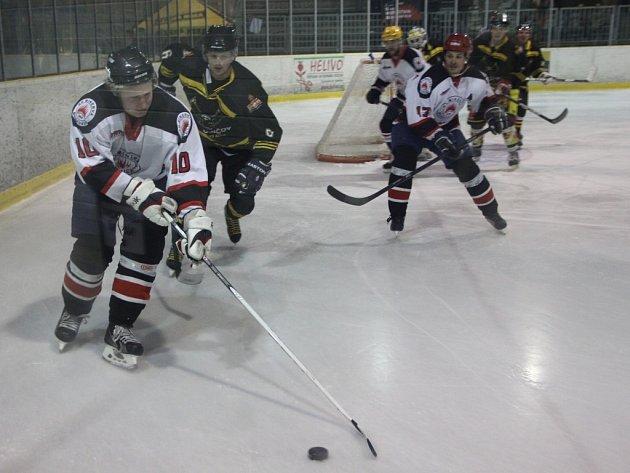 Hokejisté Boskovic porazili v prvním semifinále krajské ligy Uničov 2:1.