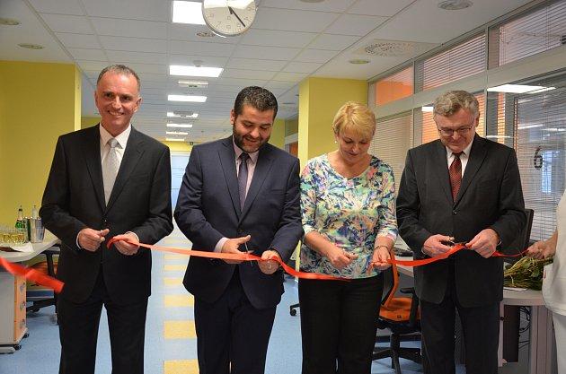 Nové anesteziologicko-resuscitační oddělení ve středu slavnostně otevřeli vNemocnici Boskovice.