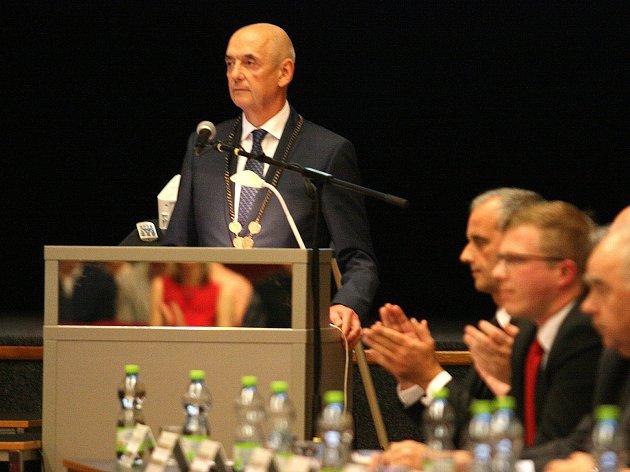 Nový starosta Blanska Jiří Crha.