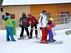 Ski areál Olešnice na Moravě. Ilustrační foto.