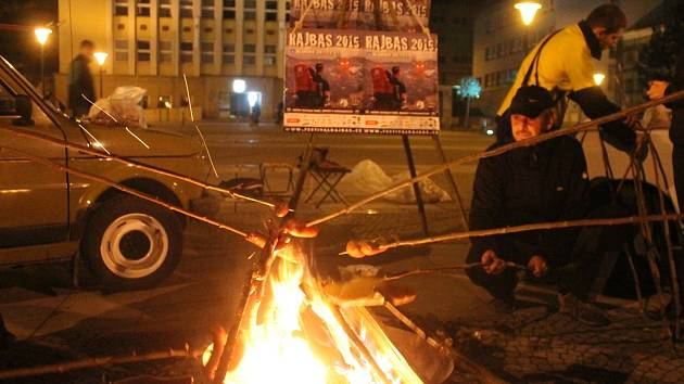 Lákání na festival filmů, setkání a dobrodružství  Rajbas v Blansku.