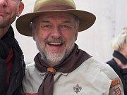 Jan Pořízek je duší blanenského skautingu.