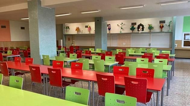 Velkou proměnou prošla Základní škola ve Velkých Opatovicích hlavně ve vnitřních prostorách.