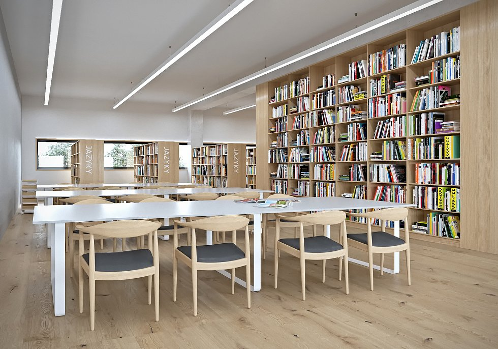 V Boskovicích hledají projektanta, který zpracuje architektonický návrh nové knihovny a komunitního centra.