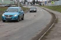 Ulice Chrudichromská v Boskovicích.