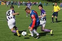 Fotbalisté Blanska remizovali ve šlágru kola s Hodonínem 1:1.