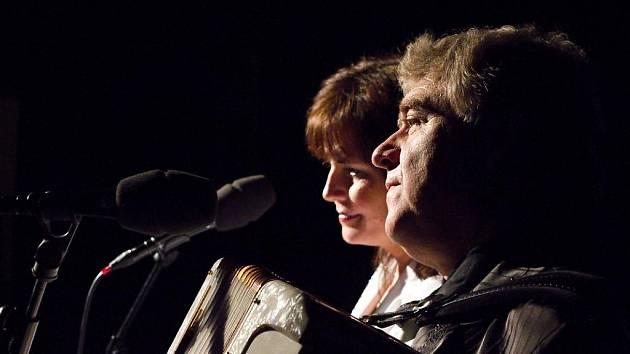 Eva a Vašek v Blansku.