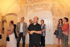 Na zámku v Kunštátě otevřeli nový prohlídkový okruh. Jeho součástí je unikátní malba ze středověku.