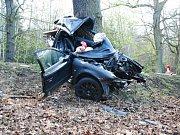 Nehoda u Černé Hory na Blanensku si vyžádala tři oběti. Silnice I/43 byla déle jak tři hodiny neprůjezdná.