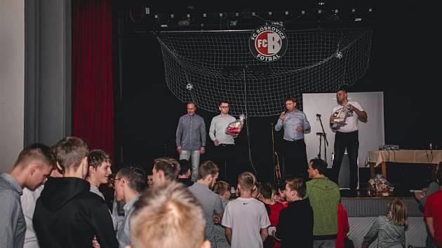 Rozlučka boskovických fotbalistů s rokem 2019 a zahájení roku 2020