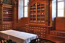 Historická lékárna v klášteře Řádu  Milosrdných bratří v Letovicích