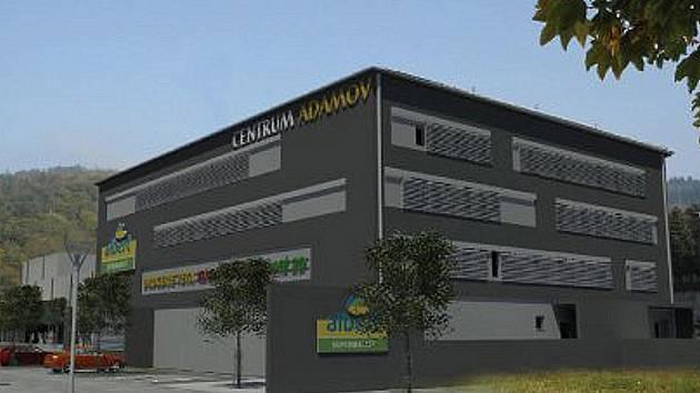 Budoucí multifunkční centrum v Adamově.