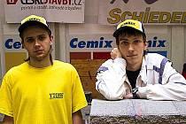 Roman Krištof a Miroslav Havel obsadili druhé místo na mezinárodní soutěži stavebních řemesel SUSO 2014.