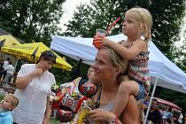 Jarmark tradičních řemesel se v sobotu již pojedenácté konal v parku městyse Svitávka.