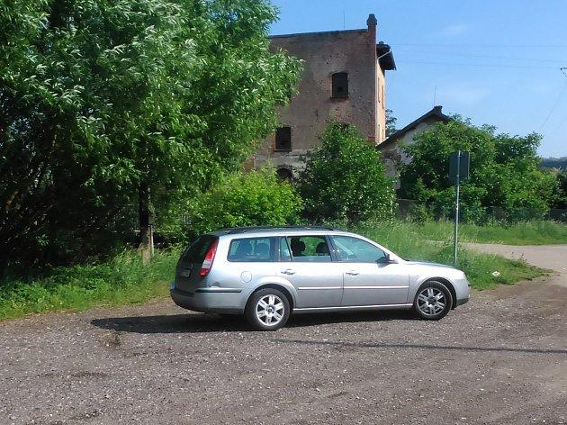 Blanenští chtějí poblíž bývalého Salmova mlýna postavit parkoviště.
