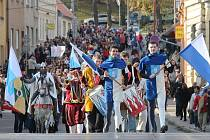 Vítání svatého Martina v Blansku. Ilustrační foto
