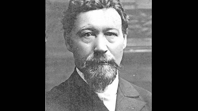 Zakladatel a první nadučitel obecné školy ve Vanovicích František Břeněk.