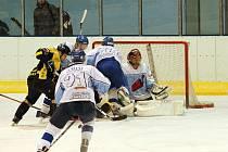 Po výprasku od Moravských Budějovic prohráli blanenští hokejisté i s Uherským Brodem.