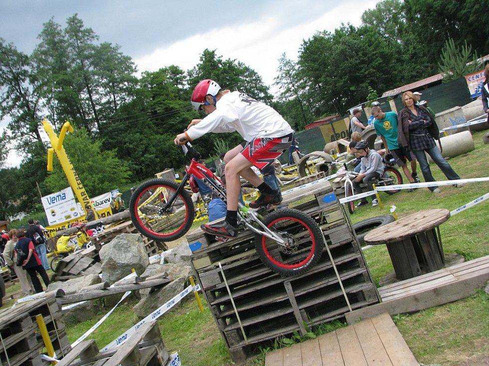 Mistrovství České republiky v biketrialu 2010 pořádané v Blansku.