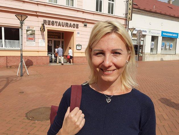 Pavla Navrkalová, 36let, mateřská dovolená, Blansko.