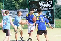 Cyklo-běžci v Blansku bojovali sportem proti drogám.
