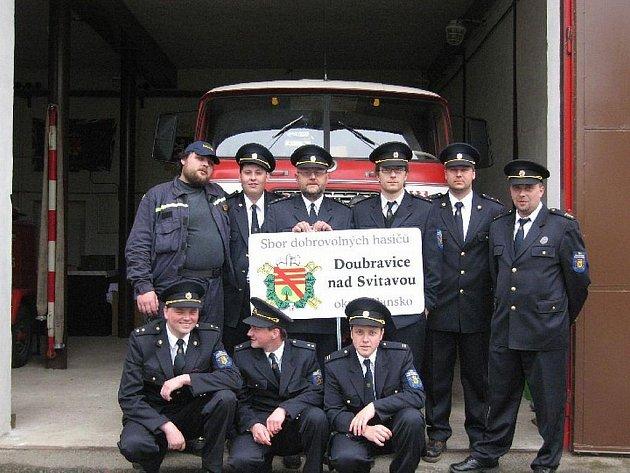Dobrovolní hasiči z Doubravice nad Svitavou