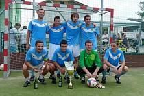 Tým LPP Lhota u Lysic vyhrál v Havlovicích Pohár vítězů pohárů. Foto z loňského okresního poháru.
