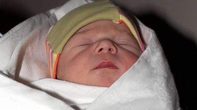 V boskovické nemocnici se v novém roce narodil jako první Ondřej Hlaváček z Letovic. V pořadí jako čtvrté miminko v kraji a první letos na Blanensku.