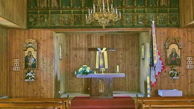 Dřevěný kostelík v Blansku