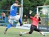 V posledním kole tohoto ročníku Superligy malého fotbalu prohrál tým Pivovar Černá Hora Blanensko (modré dresy) s Pardubicemi 4:7 a těsně mu unikla bronzová medaile.