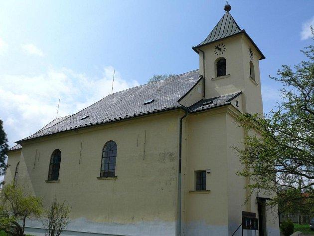Kostel v Benešově.