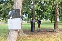 Návštěvníci blanenského zámeckého parku si v těchto dnech prohlédnou výstavu pod širým nebem. Jmenuje se Práce (bez) budoucnosti. Na okolních stromech je umístěno deset plakátů s fotografiemi. Přibližují fenomény nových technologií, které ovlivňují trh pr