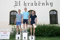 Jan Křenek vyhrál úvodní závod desátého ročníku běžeckého seriálu Hraběnka Cup. Druhý doběhl Leoš Svoboda a třetí Zdeněk Polák.