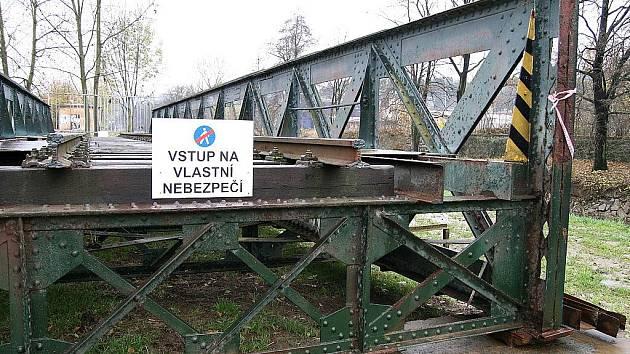 Ježkův most v Blansku.