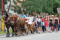 Studenti vyrazili v Blansku do ulic. Město ovládl tradiční Majáles.