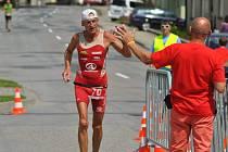Sedmdesátiletý boskovický triatlonista Milda Bayer ovládl na začátku června mistrovství světa ve středním triatlonu ve slovenském Šamoríně a úspěšně tak vkročil do nové závodní sezony.