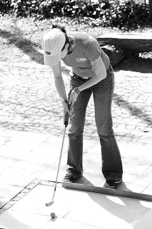 Minigolfový turnaj v Blansku