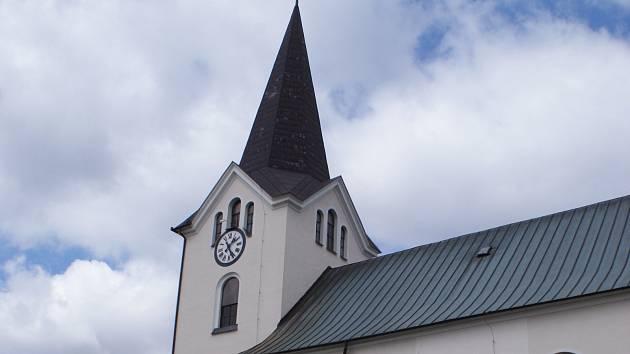 Kostel v Drnovicích.