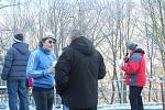 Adamovská Vlásenka patřila v sobotu dopoledne běžcům. Konal se sedmý ročník Mikulášského běhu do vrchu.