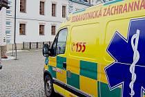 Záchranáři v Karlštejně