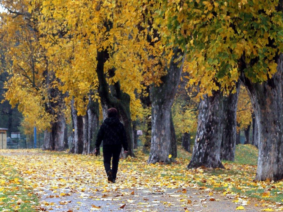 Podzim v Blansku. Ilustrační foto.