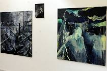 V Galerii města Blanska si mohou lidé v těchto dnech prohlédnout projekt Kraj-jinné meze.