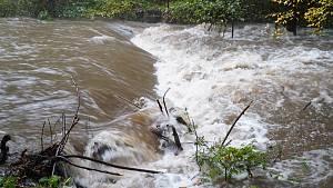 Ohrožení na Blanensku, hrozí povodně