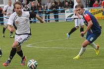 Fotbalisté Blanska porazili Vrchovinu 1:0 po gólu Trtílka.