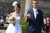 Pátý ročník Svatební show se v neděli odpoledne konal na Zámku Lysice.