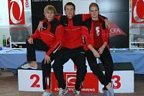 Blanenští plavci o víkendu zazářili na mezinárodním závodu Axis Cup v Jihlavě. Jan Vencel a Kateřina Kopřivová splnili limity pro Zimní mistrovství republiky dorostu. To hostí Plzeň. Navíc si vylepšili několik osobních rekordů.