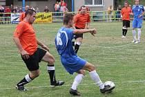 Blanenští fotbalisté zahodili gólové šance a se slabším Podivínem nakonec remizovali 1:1.