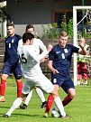 V utkání  Moravskoslezské divize skupiny D porazil FC Žďár nad Sázavou (bílé dresy) FK Blansko 2:0.